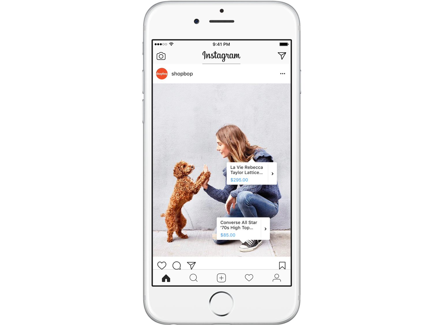 Instagram Shopping se lance aussi en France