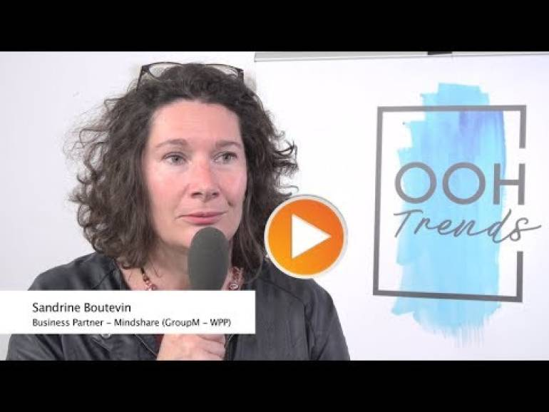 OOH Trends - Interview de Sandrine Boutevin (Mindshare) - 16/10/2019